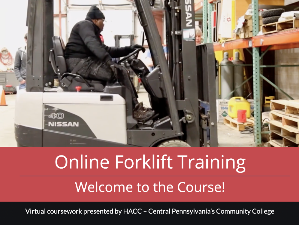Forklift Training Prep Class (CE002_CRN50529)