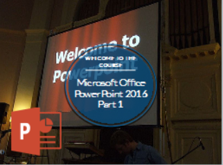 Microsoft Office PowerPoint 2016: Part 1 (CE674_CRN50543)