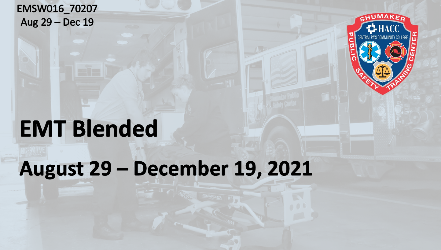 EMT Blended Sunday (EMSW016_CRN70207) Dauphin County