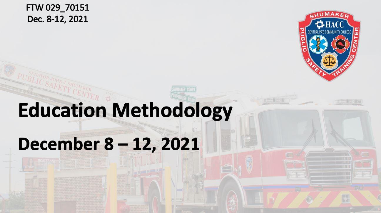 Education Methodology (FTW029_CRN70151)