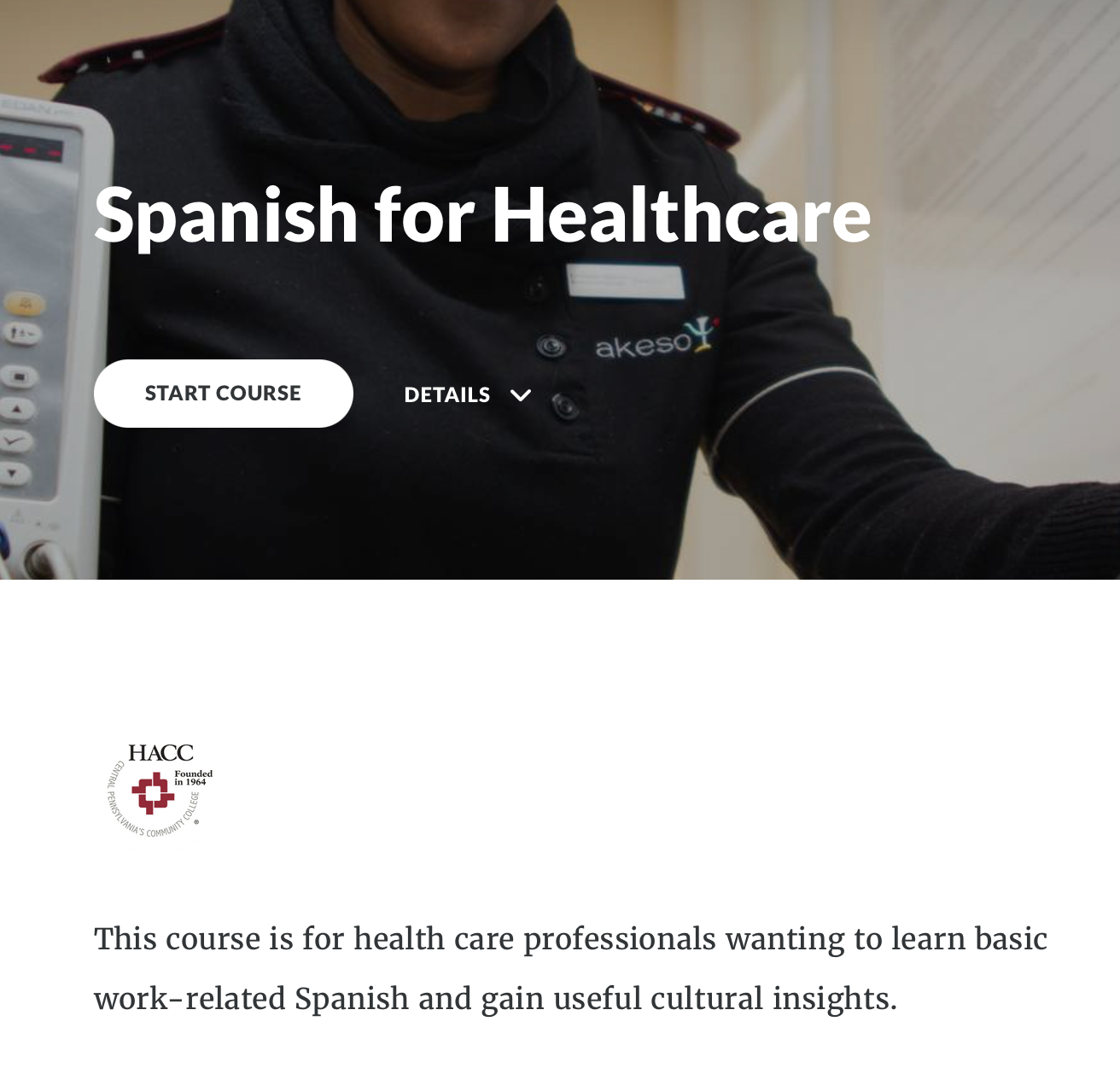 Spanish for Healthcare