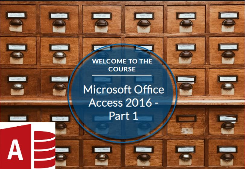 Microsoft Office Access 2016: Part 1 (CE978_CRN60436)