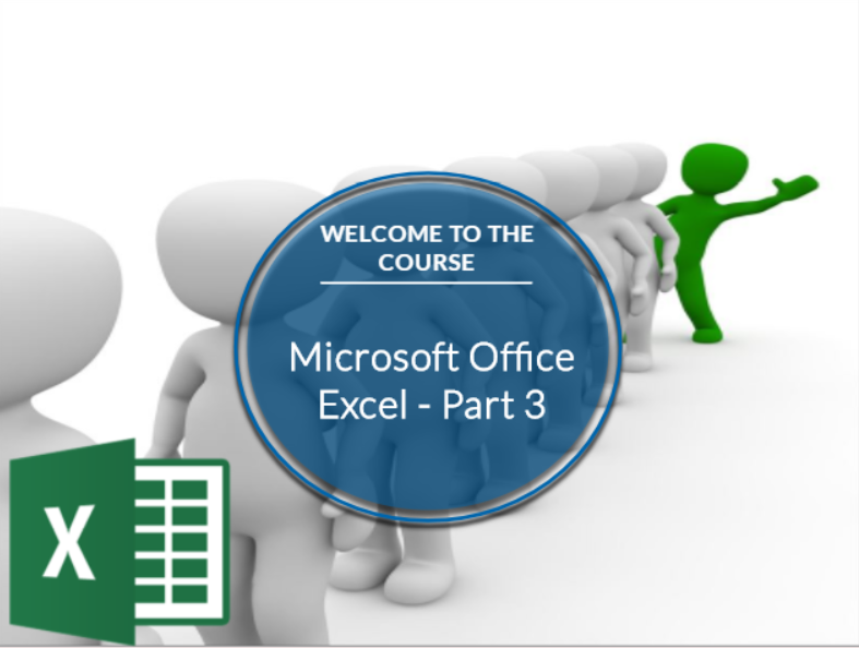 Microsoft Office Excel 2016: Part 3 (CE194_CRN60441)